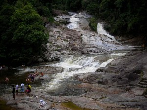 Chamang Waterfall at Bentong